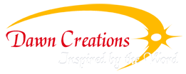 dawn creations, author logo